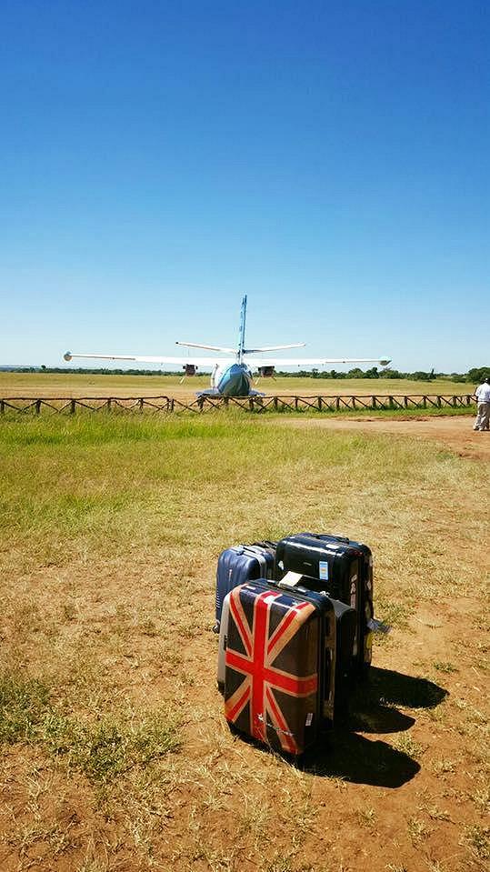 Do národního parku Massai Mara se létá soukromým letadlem.