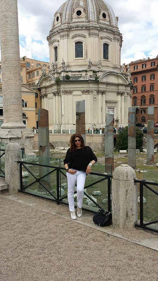 Obešla si všechna místa ze svého oblíbeného bijáku Prázdniny v Římě.