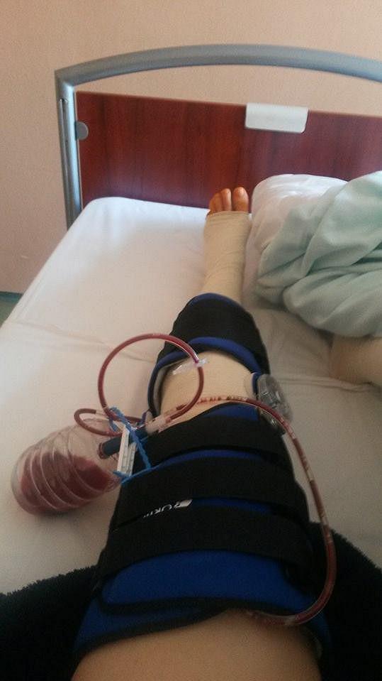Gábina prodělala náročnou operaci.