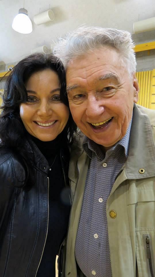 Josef Zíma s Danielou Magálovou