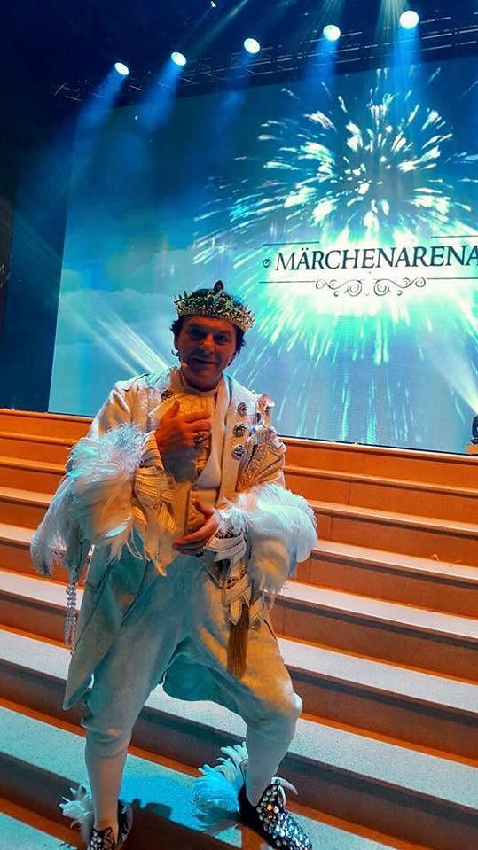 Pavel Trávníček jako král v Třech oříšcích pro Popelku