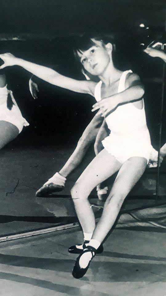 Od dětství se herečka věnovala baletu.