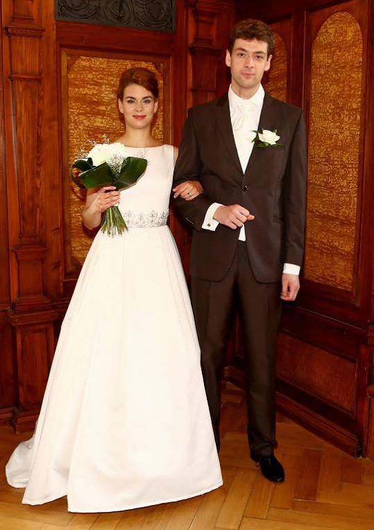 Radúz Mácha a Markéta Frösslová a jejich svatba v seriálu Cesty domů