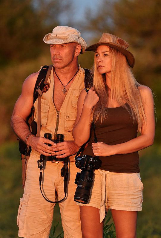 Barbora Mottlová fotila v Botswaně divoká zvířata.