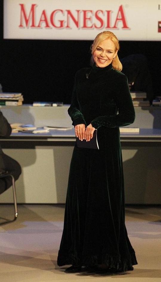Dagmar Havlová bude ve Vinohradském divadle zkoušet novou roli.