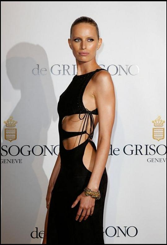Kurková opět zářila na festivalu v Cannes.