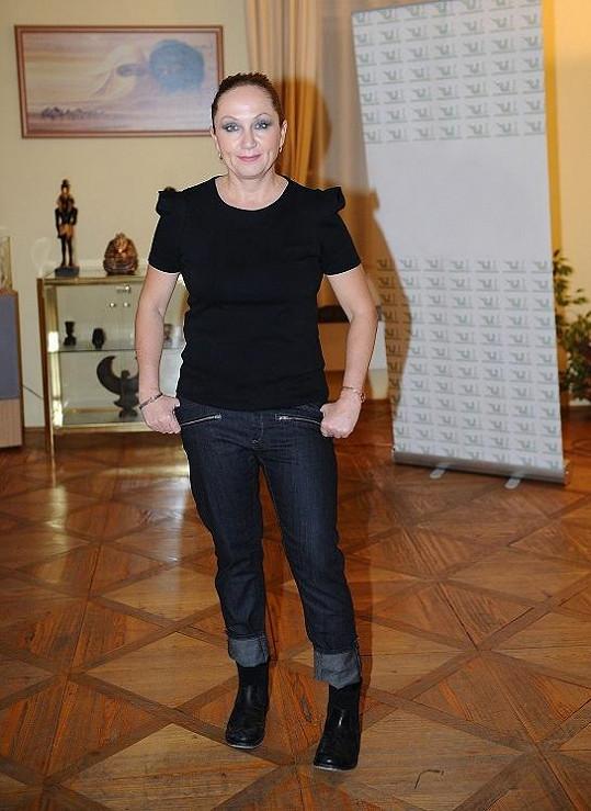 Bára Basiková pořádně zhubla.