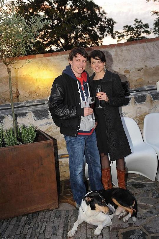 Jana Stryková s přítelem Matějem
