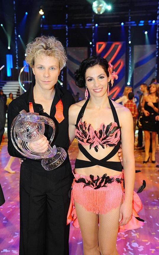 Kudrnáč Jak Onder vyhrál StarDance například s Kateřinou Baďurovou.