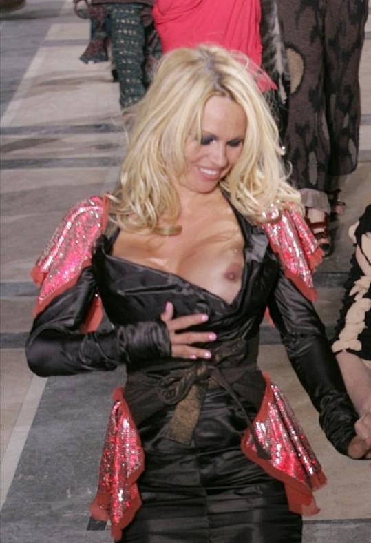 Bývalou hvězdu Playboye Pamelu Anderson podobná nehoda jistě nerozhodí.