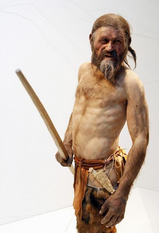 Takto mohl vypadat ledový muž Ötzi
