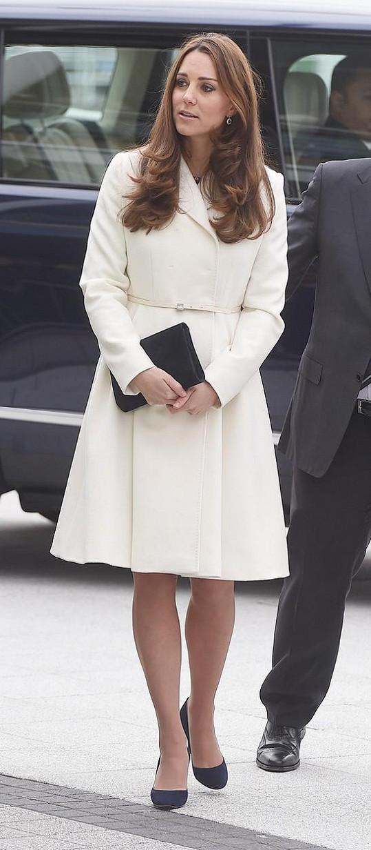 Vévodkyně Kate navštívila Portsmouth.