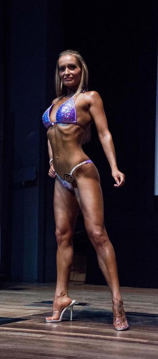 Ali bodovala v kategorii 'Bikini Masters'.