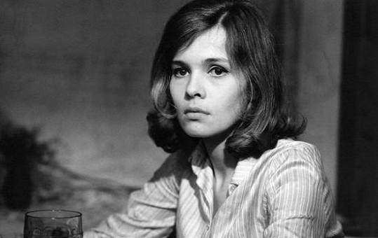 Jana Šulcová v začátcích své herecké kariéry.