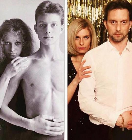 Kristina Kloubková zveřejnila snímek se svým přítelem, kterého zná už 25 let.