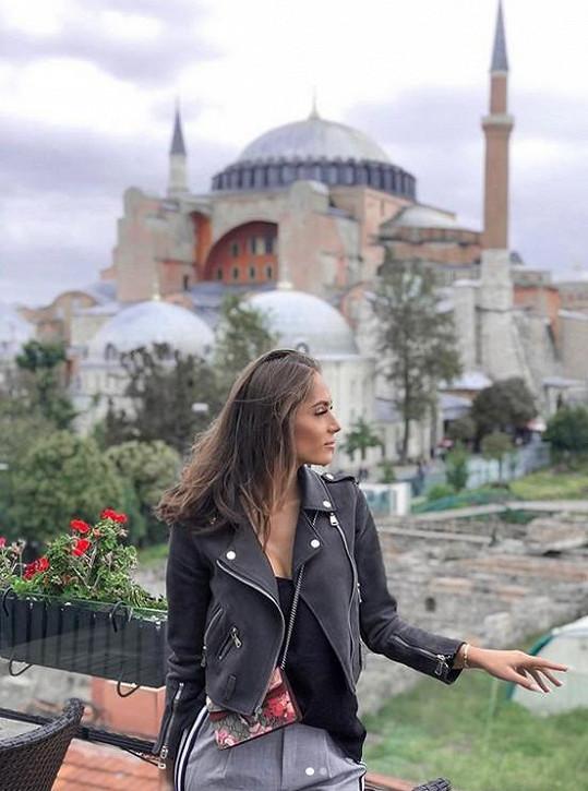 Třešničková zažila horor při návštěvě Istanbulu.