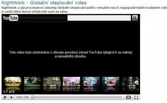 Důvod, kvůli kterému Youtube zakázal Globální oteplování.