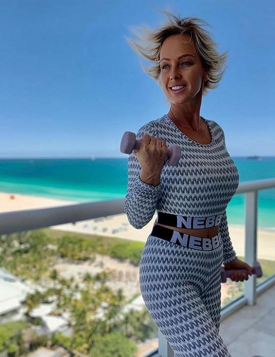 Zuzka Belohorcová žije v Miami ve čtvrti South Beach.