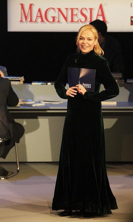 Dagmar Havlová se umí elegantně oblékat.