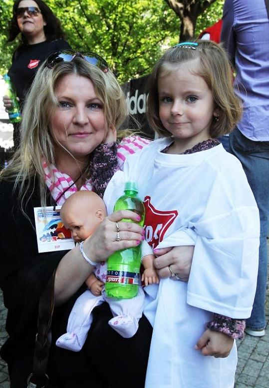 Noemi Muková s maminkou Evou na jaře letošního roku.
