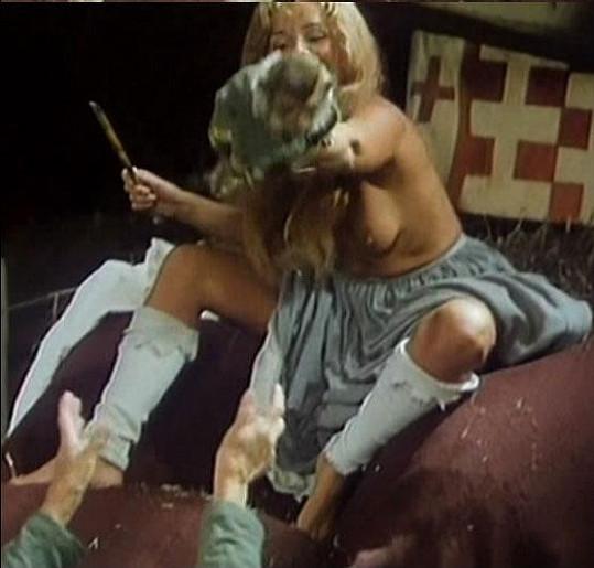Dagmar Havlová ve filmu Komediant.