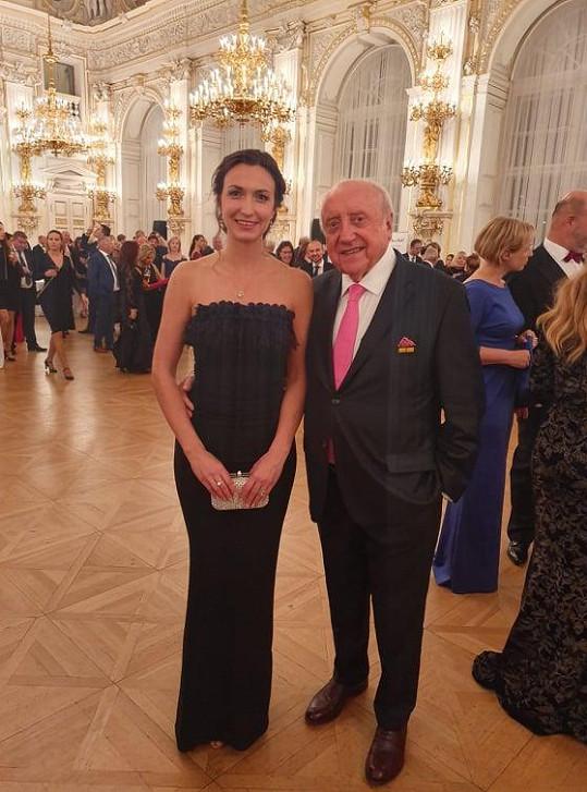 S Felixem Slováčkem na Pražském hradě