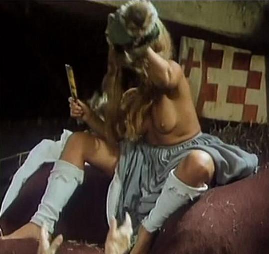 Dagmar Havlová ukázala své přednosti.