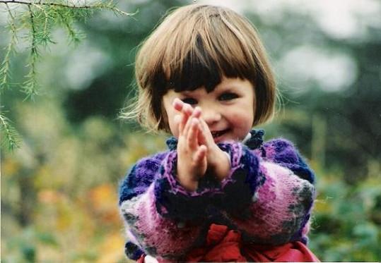 Ewa Farna jako malá holčička