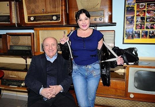 Dáda s manželem Felixem Slováčkem na rok starém snímku.