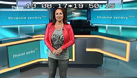 Lucie při svém posledním vysílání