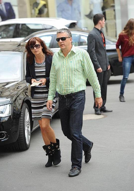 Beata Rajská s manželem.