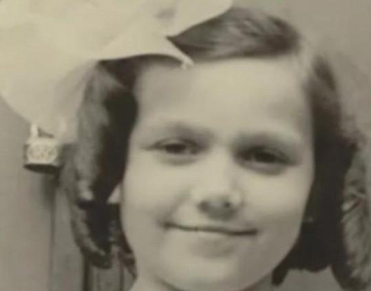 Jiřina Jirásková jako malá holčička.
