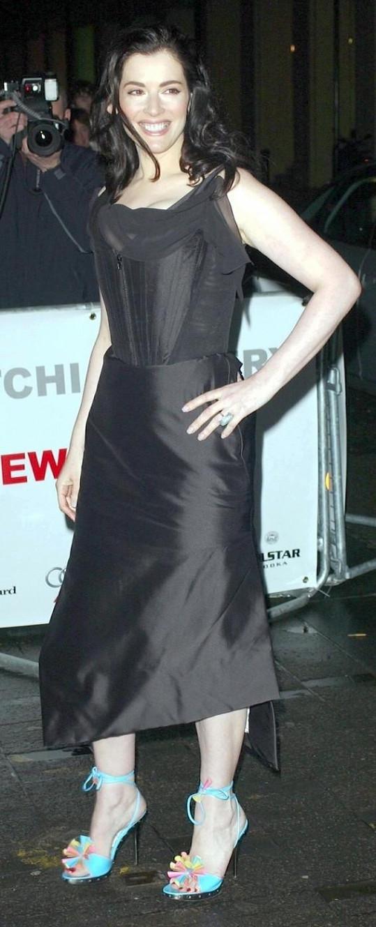 Nigella Lawson byla v roce 2004 jako proutek.
