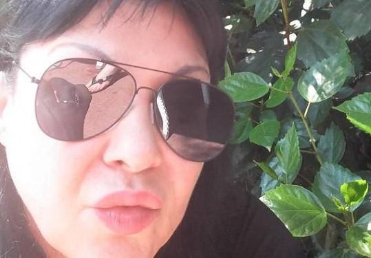 Fanouškům z Itálie poslala vzdušný polibek.