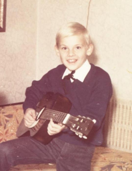 Martin Maxa ve 14 letech