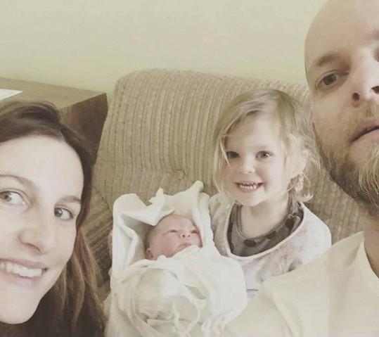 Klára Vytisková má dvě holčičky.