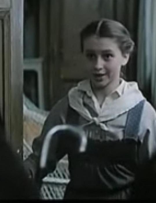 Dana Morávková ve filmu Veronika.