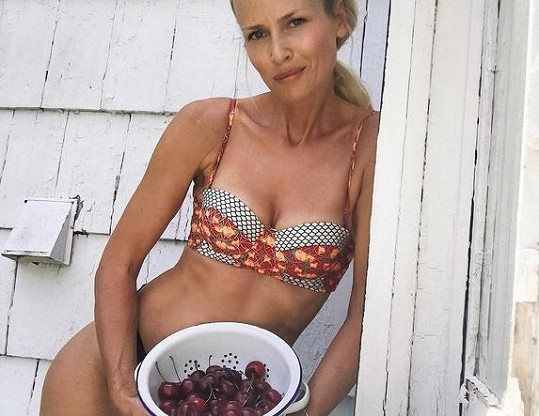 Daniela Peštová je stále žádanou modelkou spodního prádla.