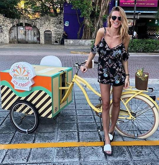 Veronika Kopřivová si sama vyrazila do Mexika.