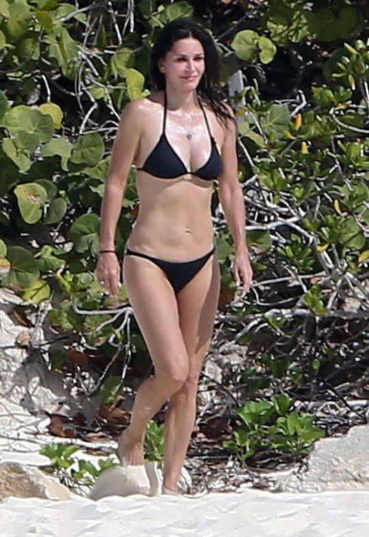 Courteney Cox měla vždycky perfektní figuru.