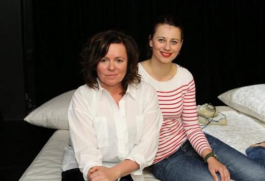 S Jitkou Sedláčkovou vytvořila Dáša divadelní projekt Lidský hlas.