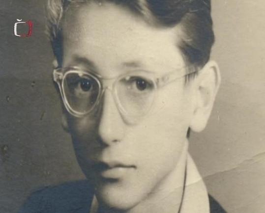 Jiří Menzel v dobách svého mládí.