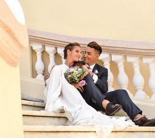 Vzali se v Monaku.
