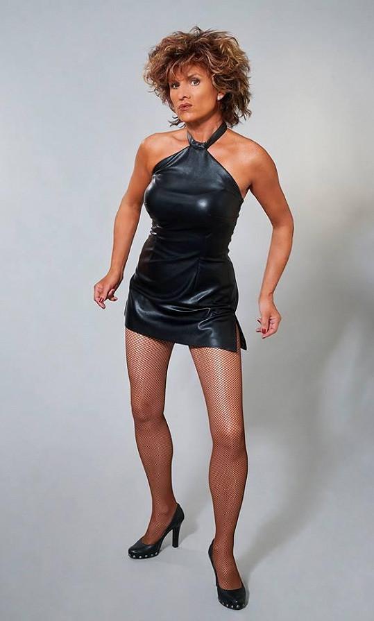 Leona Machálková jako Tina Turner