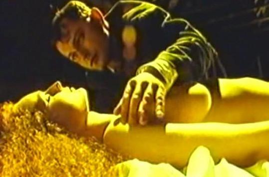 Markéta Hrubešová v jedné z posledních scén.