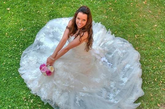 Adéla Blažková byla krásná nevěsta.