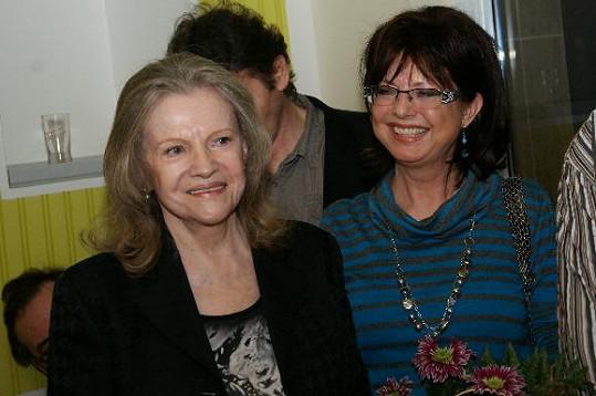 Skvěle se bavila i Marie Tomsová.