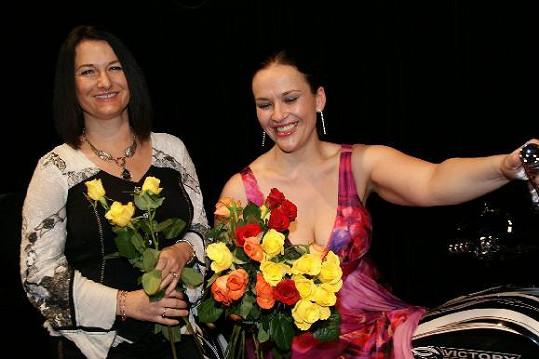 Mirka Čejková s Janou Rychterovou měly skvělou náladu.