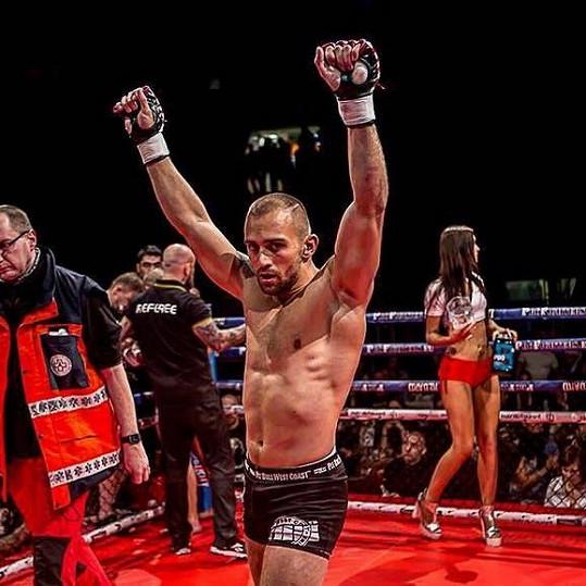 Jan Malach je českou hvězdou MMA