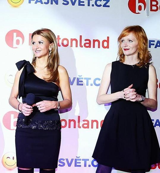 Yvetta i Aňa vypadaly skvostně.